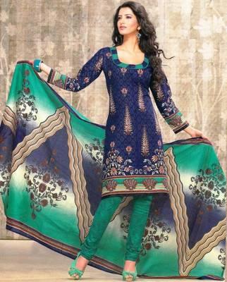 Dress material cotton designer prints unstitched salwar kameez suit d.no sg9128