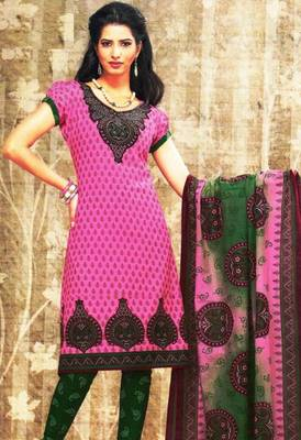 Dress material cotton designer prints unstitched salwar kameez suit d.no sg9137