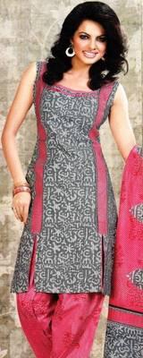 Dress material cotton designer prints unstitched salwar kameez suit d.no sg9144