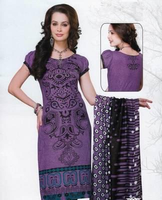 Dress material cotton designer prints unstitched salwar kameez suit d.no var7037