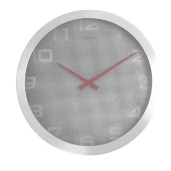 3019-RASTER(RED HANDS) simple classy clock for Home