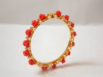 Rose Bangle- Peach