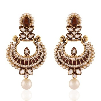 Touchstone Gold Plated Jewellery Earrings For Women