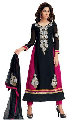Party Wear Dress Material Upvan755