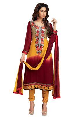 Party Wear Dress Material Upvan760