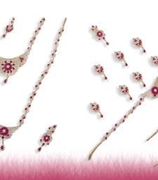 Buy american diamonds Gold bridal-sets bridal-set online
