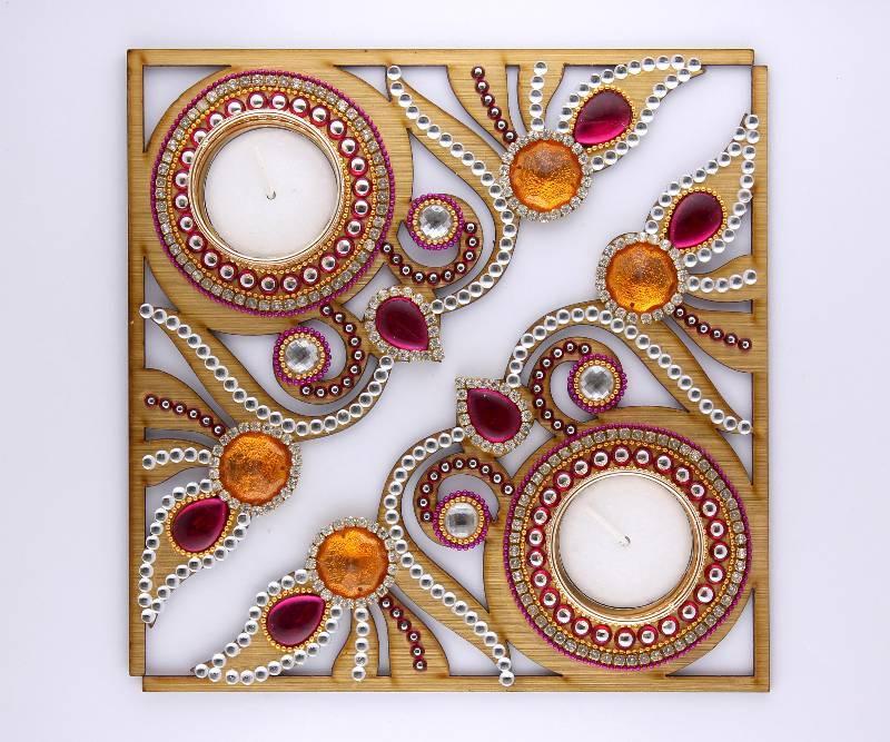Buy Decorative Acrylic Diwali Diya Online