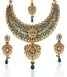 Buy Bollywood Fashion Jewelry Traditional Necklace Set necklace-set online