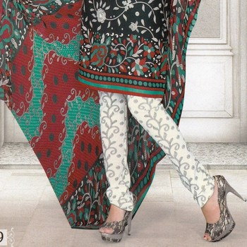 Dress Material Crepe Designer Prints Unstitched Salwar Kameez Suit D.No SJ1109
