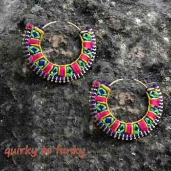 quirky to funky hoops