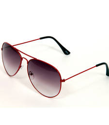 Buy HUMAN MAROON Aviator Sunglasses other-apparel online