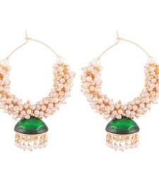 Buy traditional bali with jhumki earrings hoop online