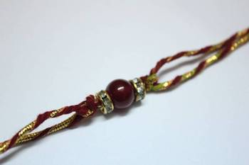 The Red Bead Rakhi