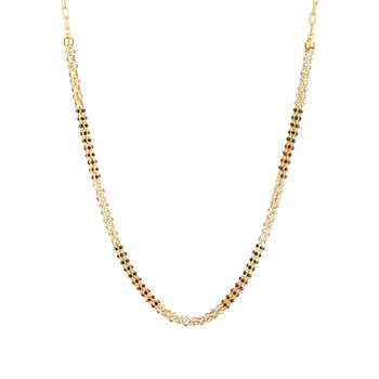 Traditional Ethnic Gold Plated Diamond drops Chain with Crystals
