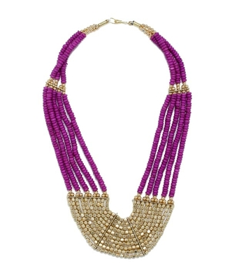 Egyptian Purple Neckpiece