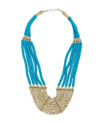 Egyptian Blue Neckpiece