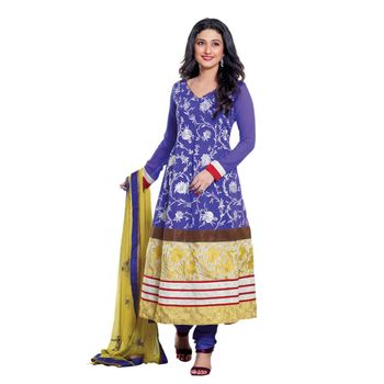 Hypnotex Faux Georgette Designer Dress Material 1605A