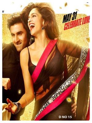 Deepika Yeh Jawani Hai Deewani Black Saree Bollywood Replica