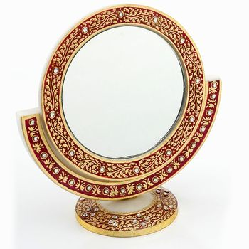 Marvel In Marble - Gold Embossed Mirror_58
