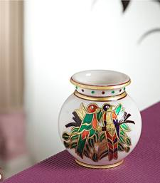 Buy Marble Pot with Gold work other-home-accessory online