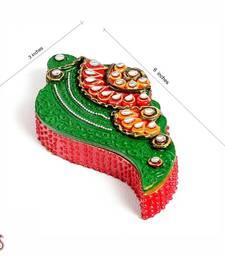 Buy Shankh Design Kumkum Chopra in wood n clay other-home-accessory online