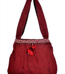 Buy  Hand bag with border jhola-bag online