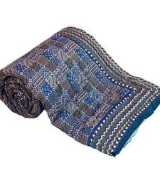 Buy Jaipuri Golden Designer Cotton Double Razai Quilt Deepawali Gift 306 jaipuri-razai online