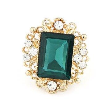 Emerald Love Ring