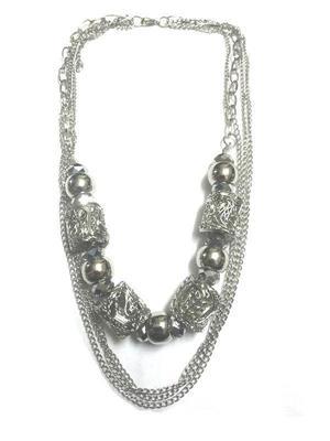 Trendy silver chain