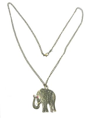 Stylish elephant pendant chain