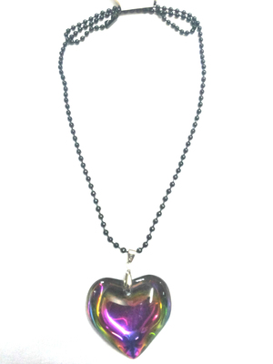 Lovely heart pendant with chain