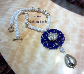 "Semi Precious Necklace ""Sakhi-1"""