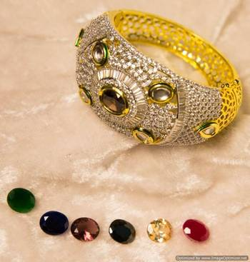 Changeable Stone Openable Bracelet
