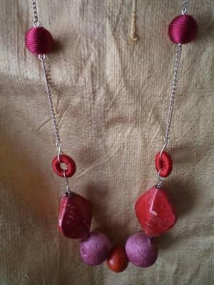 Silk Necklace-Aliff Lailaa-090144