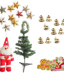 Buy Send Christmas Tree Santa Claus Bells n Stars Gift 108 christmas-decoration online