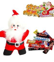 Buy Santa Claus n 200gms Imported Chocolates Xmas Gift 116 christmas-gift online