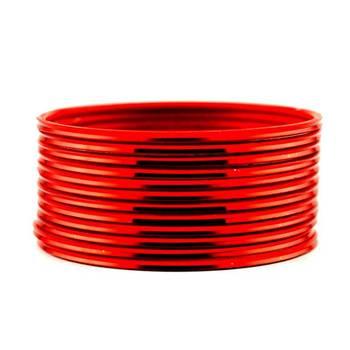 metel churi set red colour size-2.4,2.6,2.8