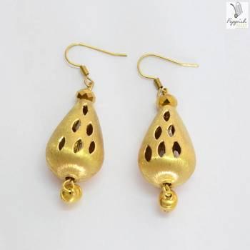 Golden Drops Earring