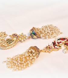 Buy ELEGANT KUNDAN PEARL EARCUFF EARRING punjabi-jewellery online