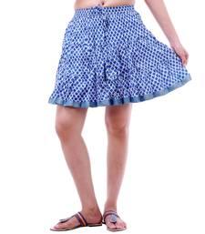 Buy Rajasthani Beautiful Designer Printed Mini Skirt skirt online