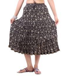 Buy Rajasthani Multi Printed Short Skirt skirt online