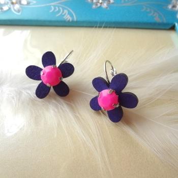 floral treat  purple n pink