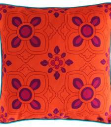 Buy Elegant Purple Flower Cushion Cover pillow-cover online