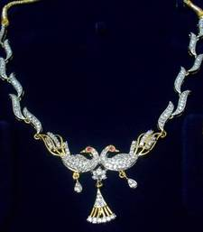 Buy Curvy Peacock Necklace valentine-gift online