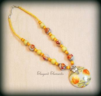 HOT SELLING!!! MARBLE BEAD NECKLACE