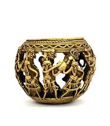 Buy Off gold pen holder home-decor eid-gift online