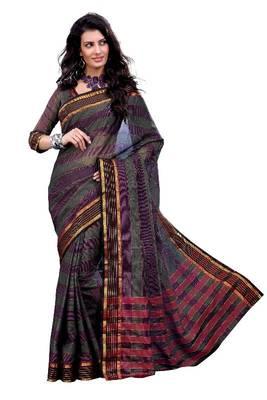 ISHIN Cotton Multicolor sarees MFCS-Anjana
