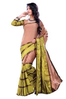 ISHIN Cotton Multicolor sarees MFCS-Paakhi
