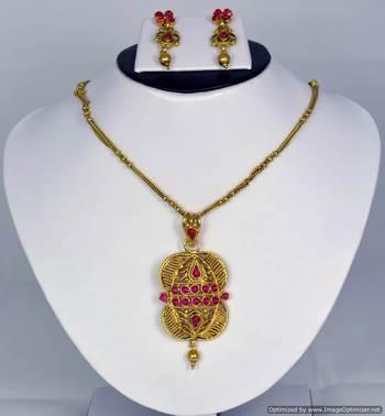 Diwali Collection Necklace Set 15