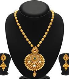 Buy Astonish Gold Plated Kundan Necklace Set For Women necklace-set online